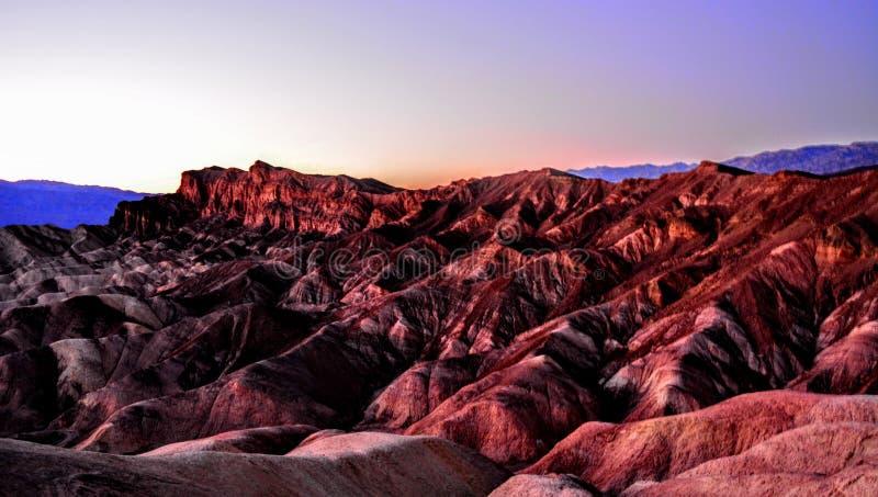 Outlook di Death Valley fotografia stock libera da diritti