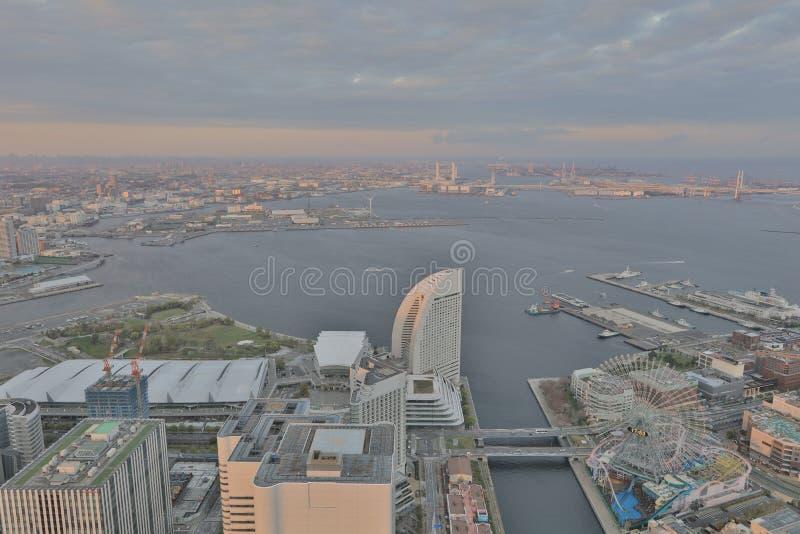 Outlook from Yokohama Landmark Tower. The Outlook from Yokohama Landmark Tower stock image