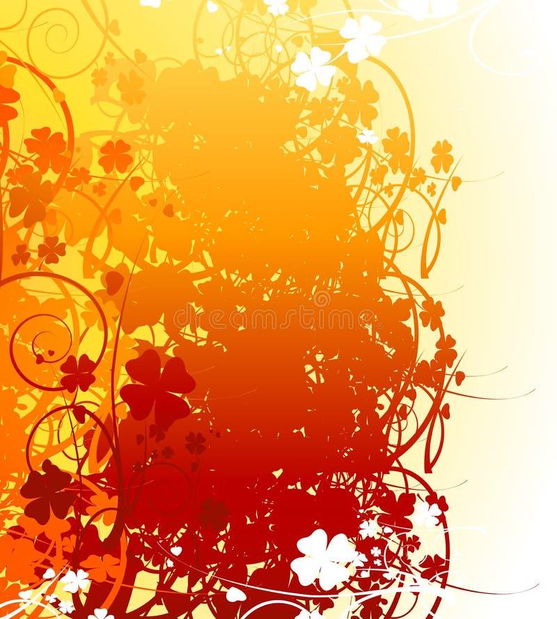 Outono ilustração stock