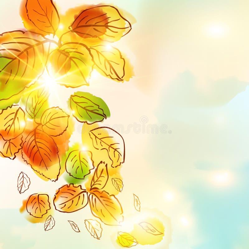 outono ilustração royalty free