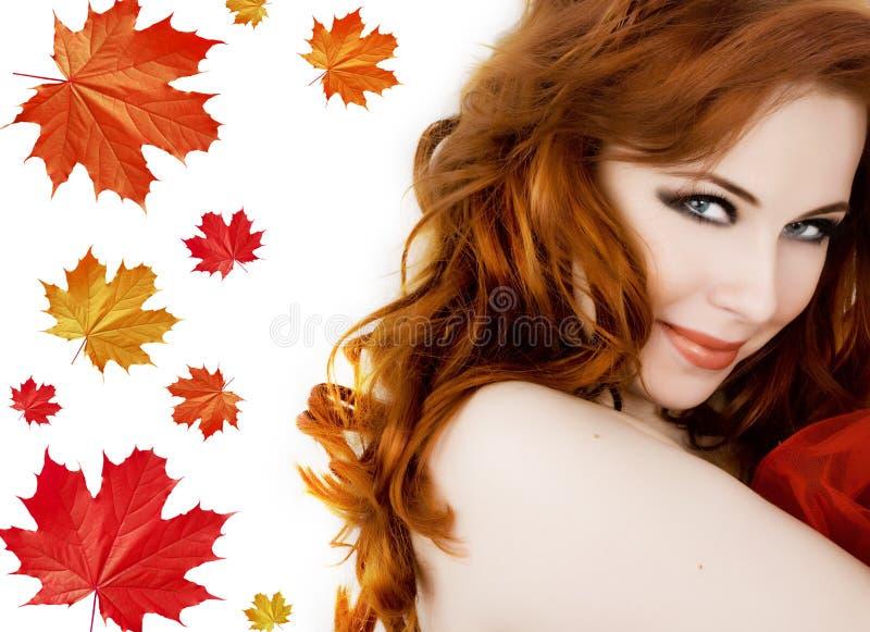 Outono da senhora fotos de stock royalty free