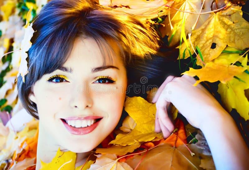 Outono da senhorita imagem de stock royalty free