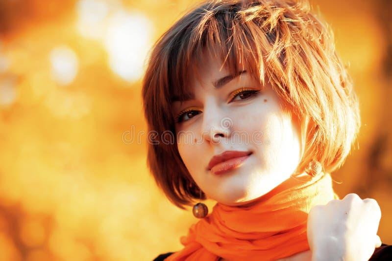 Outono da senhorita foto de stock royalty free