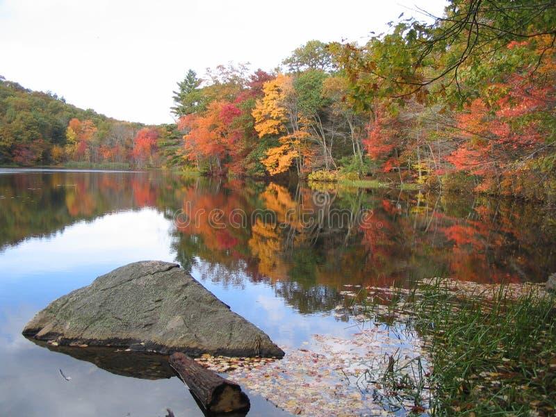 Outono de Nova Inglaterra fotografia de stock royalty free
