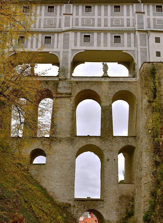 Download Outono Do Dia Do Castelo De Cesky Krumlov Imagem de Stock - Imagem de lado, detalhe: 107528561
