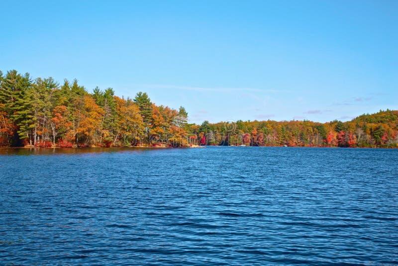 outono do parque estadual da cavidade de Bigelow fotografia de stock royalty free