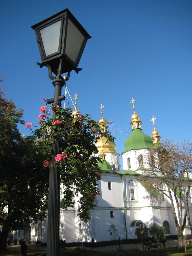 outono em Kiev, Ucrânia fotos de stock royalty free