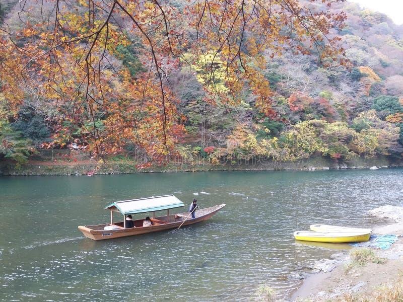 Outono em Kyoto fotografia de stock