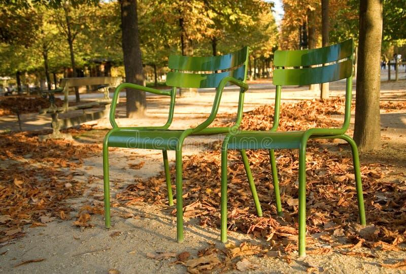 Outono em Paris fotos de stock royalty free
