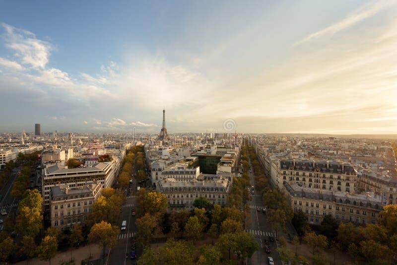 Outono em Paris fotografia de stock royalty free