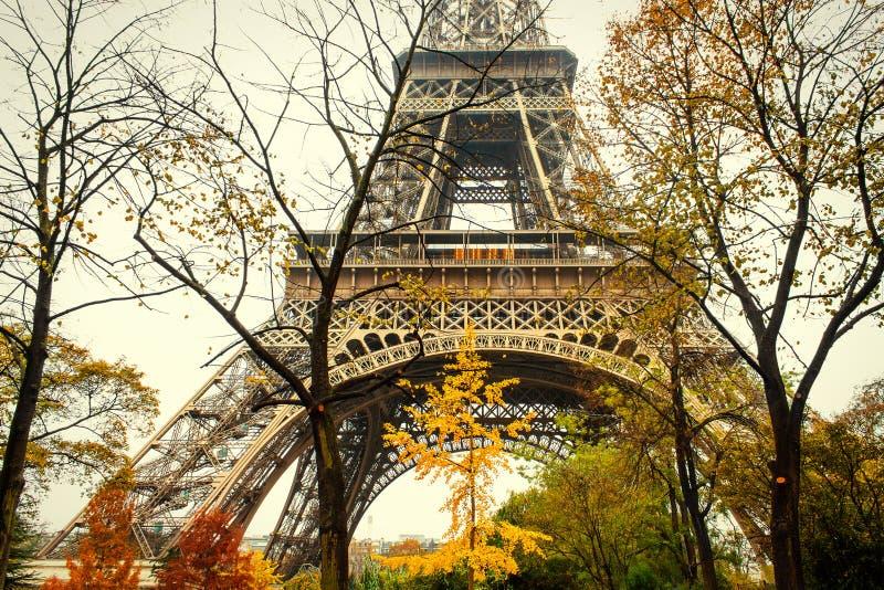 Outono em Paris fotografia de stock