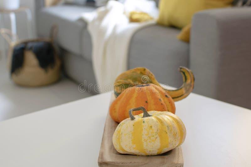 outono escandinavo decoração inspirada da casa fotos de stock royalty free