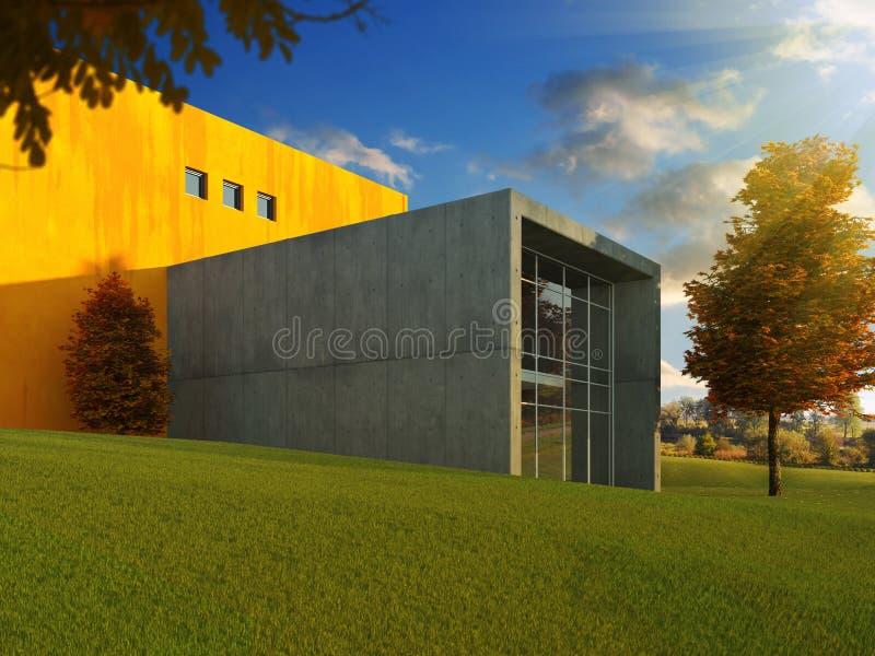 Outono moderno do edifício