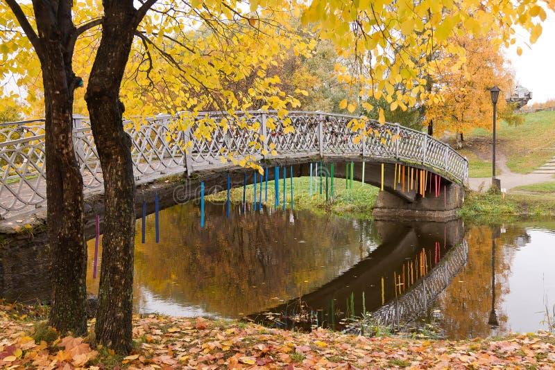 Outono na cidade fotografia de stock royalty free