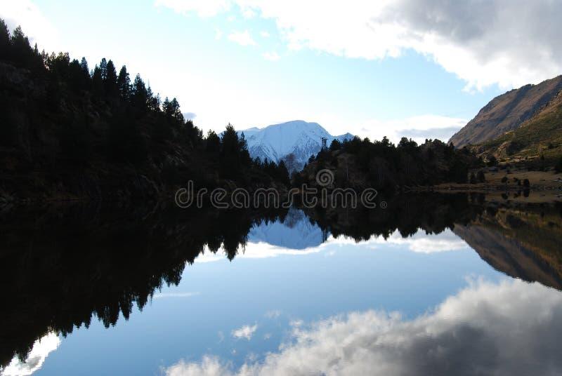 Outono nos pyrenees fotografia de stock royalty free
