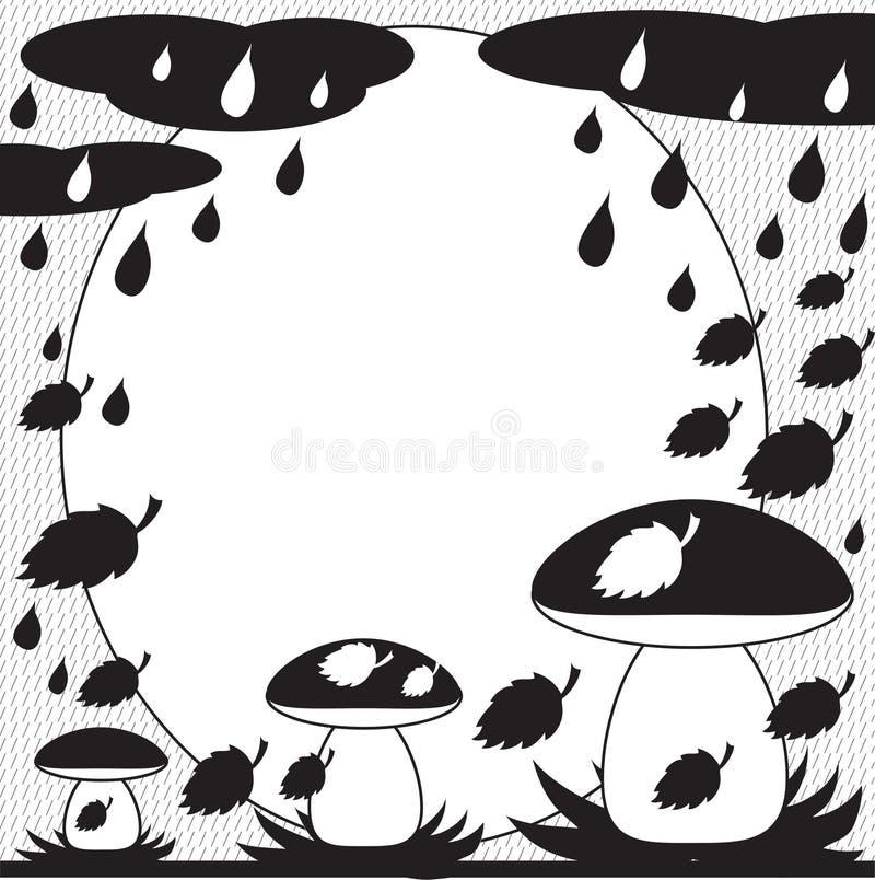Download Outono: quadro 4 ilustração do vetor. Ilustração de outono - 16874085