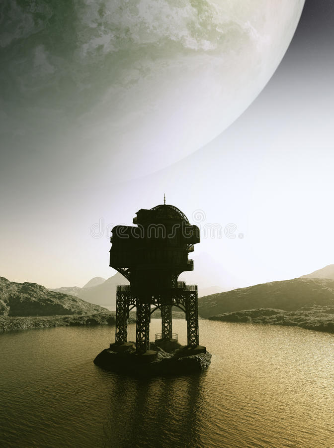 Outpost Gamma Stock Images