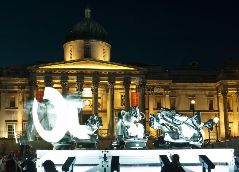 Download Outrace Robots, London Design Week Editorial Stock Photo - Image: 16179808