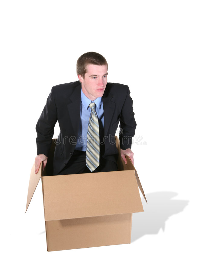 Outside the Box royalty free stock images