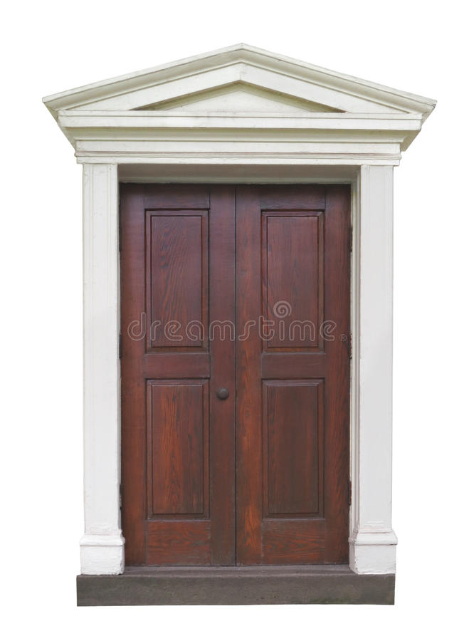 outside door with fancy molding stock image image of wooden fancy 58432579