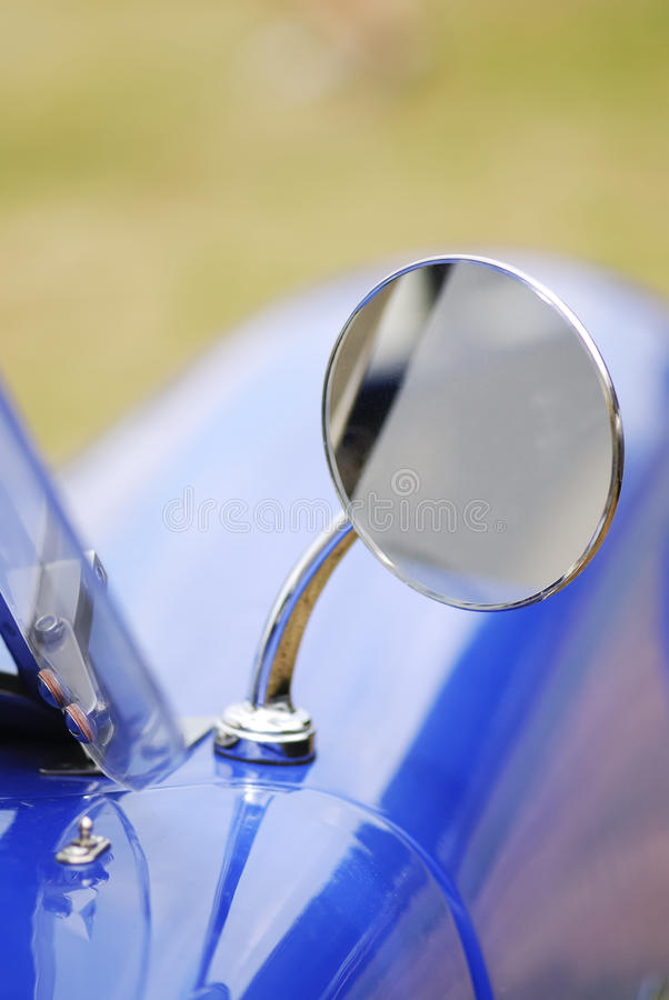 Outside Rear Mirror Stock Images