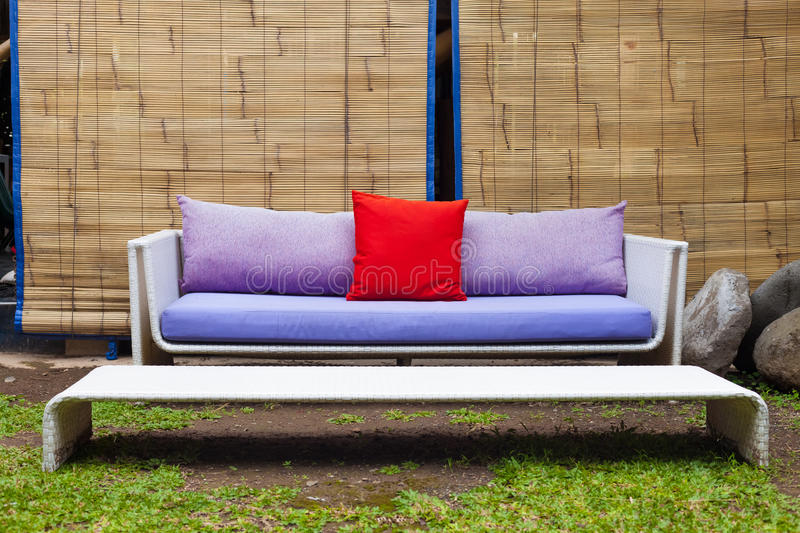 Download Outside sofa stock photo. Image of nobody, modern, lounge - 24789944