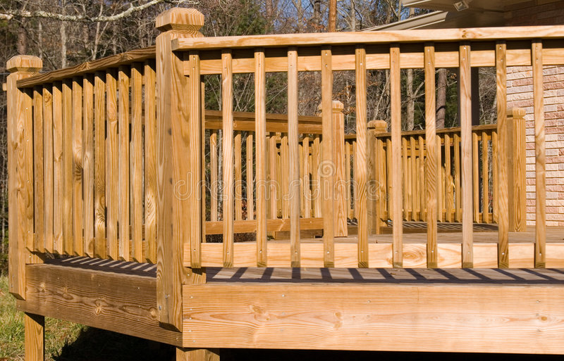 Download Outside of a wood deck stock photo. Image of board, hardscape - 3988276