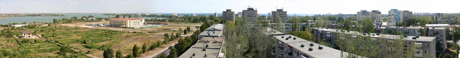 Outskirts of Constanta royalty free stock image