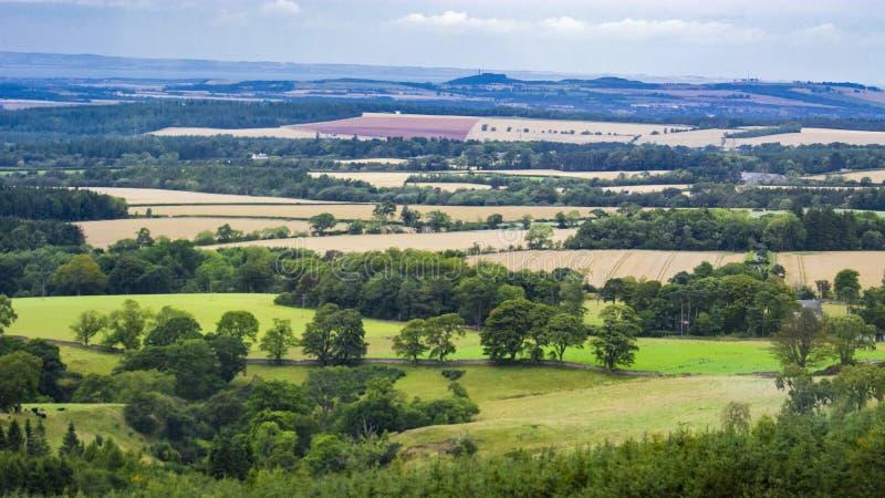 British pastoral scenery stock images