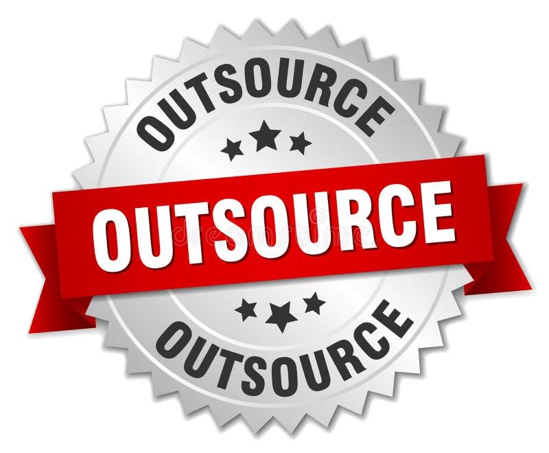outsource royalty ilustracja
