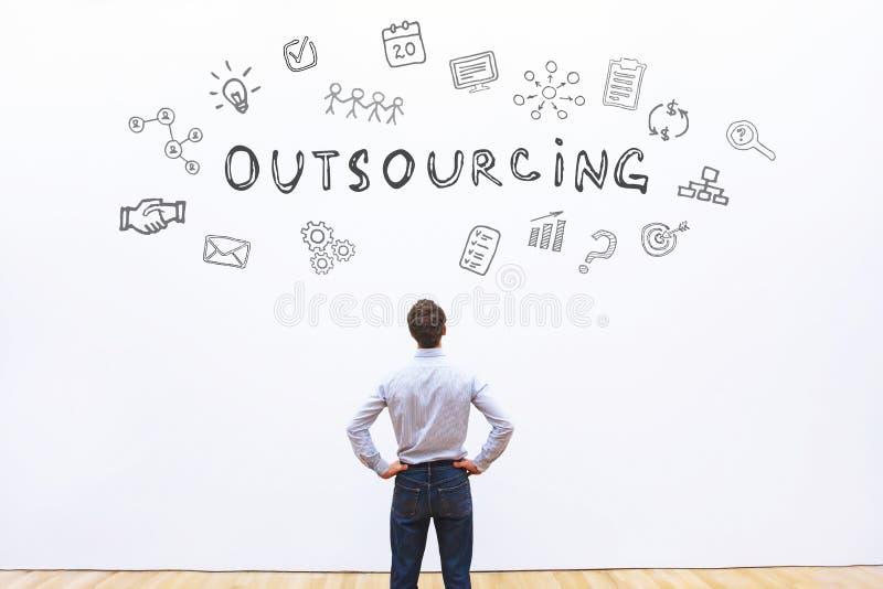 outsourcing fotografia stock