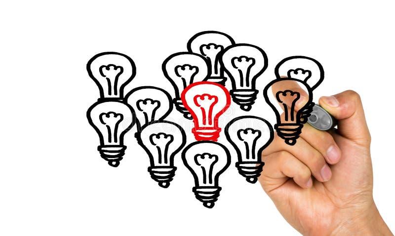 Outstanding idea concept royalty free stock photos