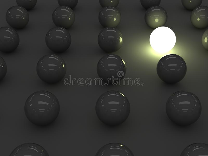 Outstanding Sphere Royalty Free Stock Image