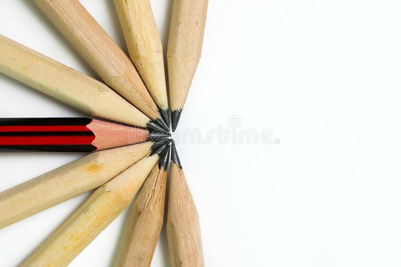 Outstanding or unique concept stock photography