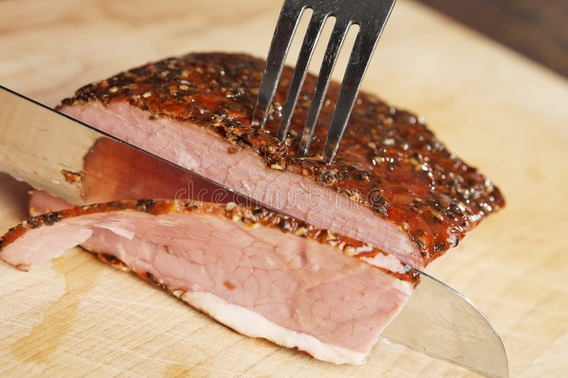 Ouuuch meat stock image