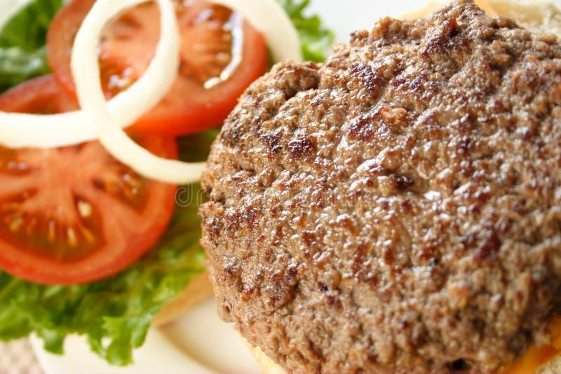 Download Ouvrez l'hamburger image stock. Image du graine, cheeseburger - 8657413