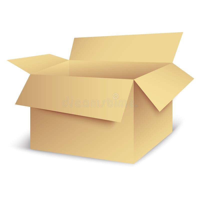 Ouvrez La Boîte Images stock