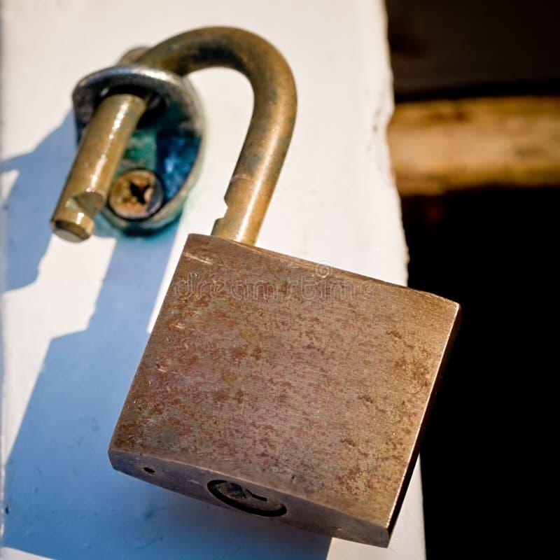Ouvrez le cadenas photo libre de droits