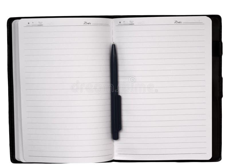 Ouvrez le cahier photo libre de droits