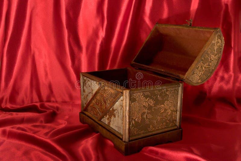 Ouvrez le coffre de trésor photos stock