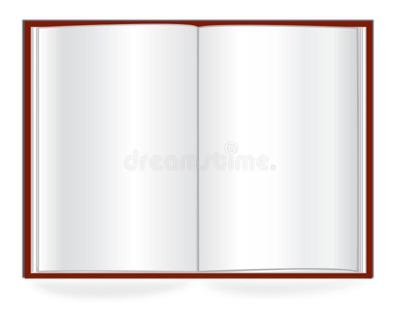 Ouvrez le livre illustration libre de droits