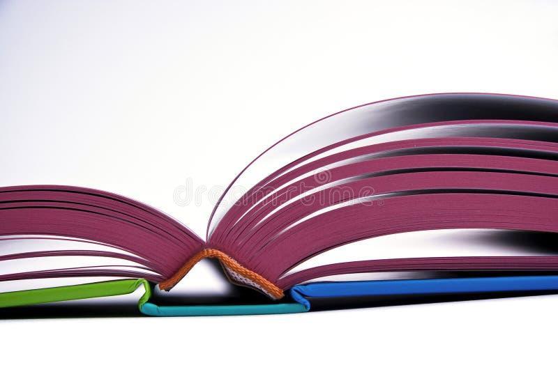 Ouvrez le livre de conception photos stock