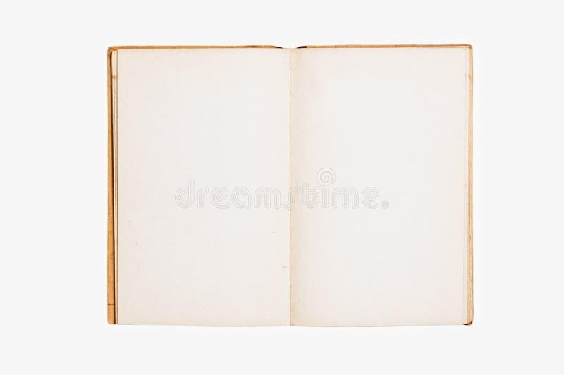 Ouvrez le livre de cru photographie stock libre de droits