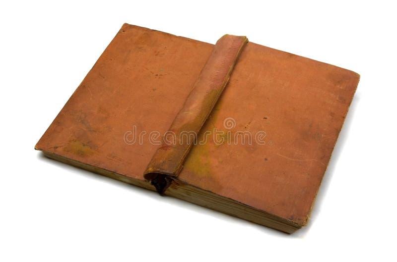 Ouvrez le vieux livre photographie stock libre de droits