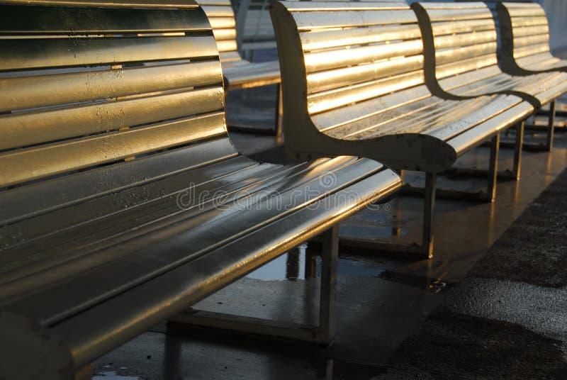 Ouvrez Seat image libre de droits
