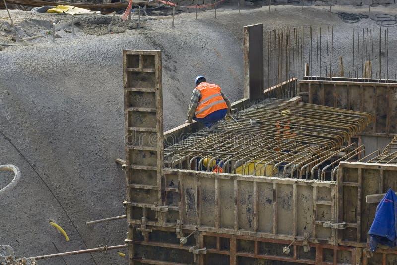 Ouvrier au travail photos stock