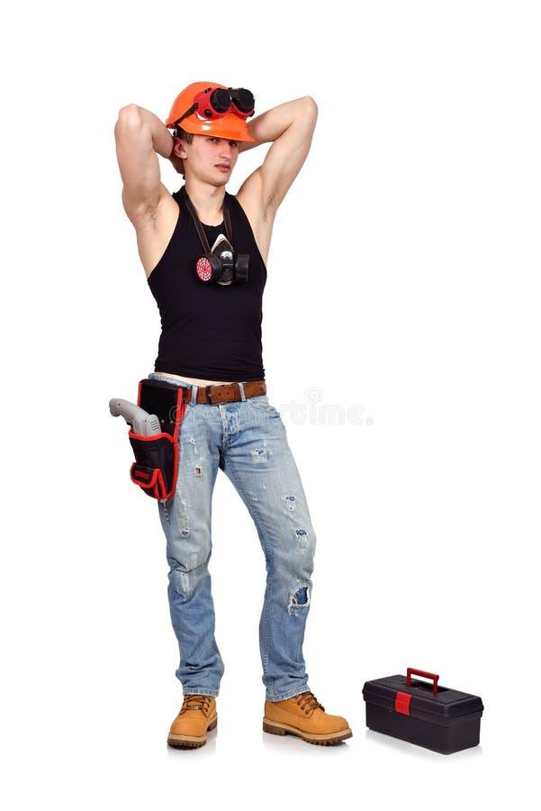 Ouvrier sexy images libres de droits