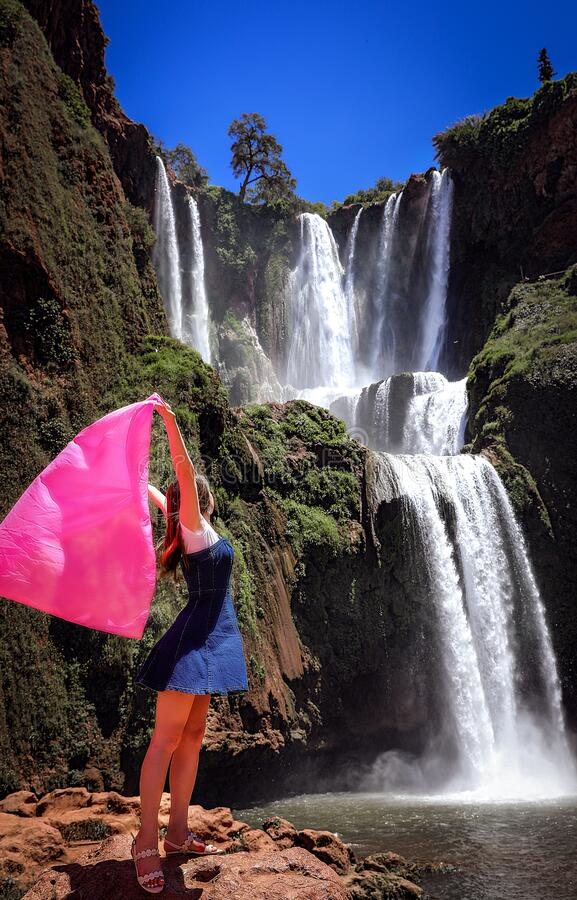 Free Ouzoud Falls In Morocco. Stock Images - 207364474