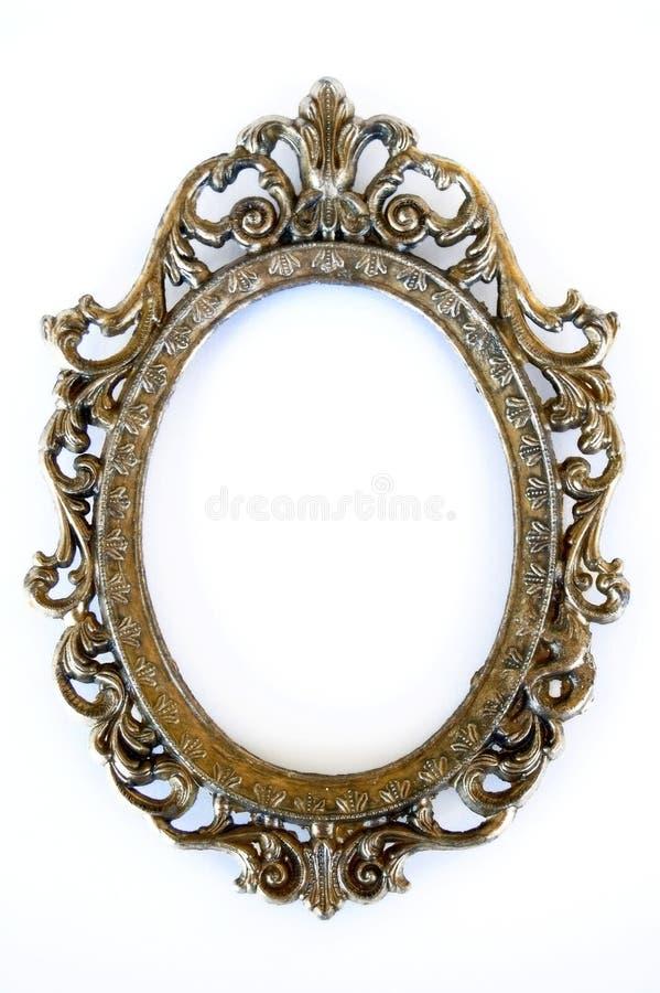 Ovaal frame stock foto's
