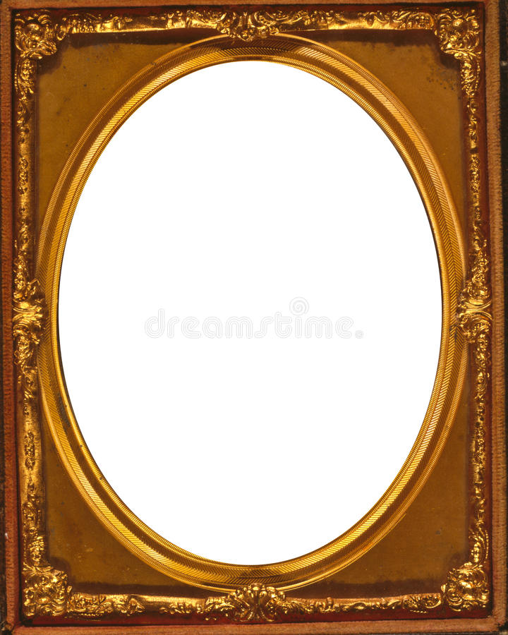 Ovaal frame stock illustratie